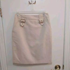 🤯BUY1GET1FREE Beige work skirt